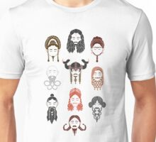 The Unwritten Lady Dwarves of Middle Earth Unisex T-Shirt