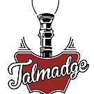 Talmadge Vintage Street Light by JaynaMcLeod