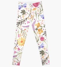 Scattered Summer Bouquet Leggings