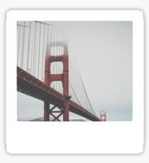Pegatina Golden Gate Polaroid