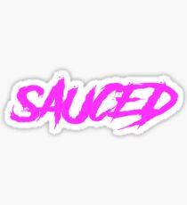 SAUCED STICKERS Sticker
