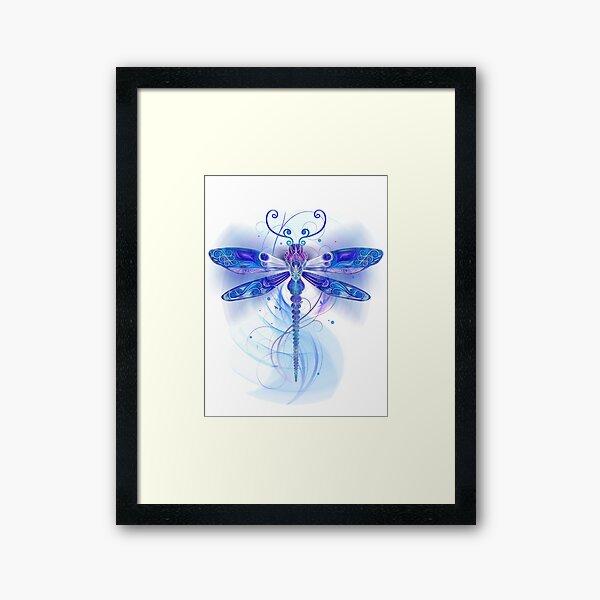 Dragonfly Fantasy Framed Art Print