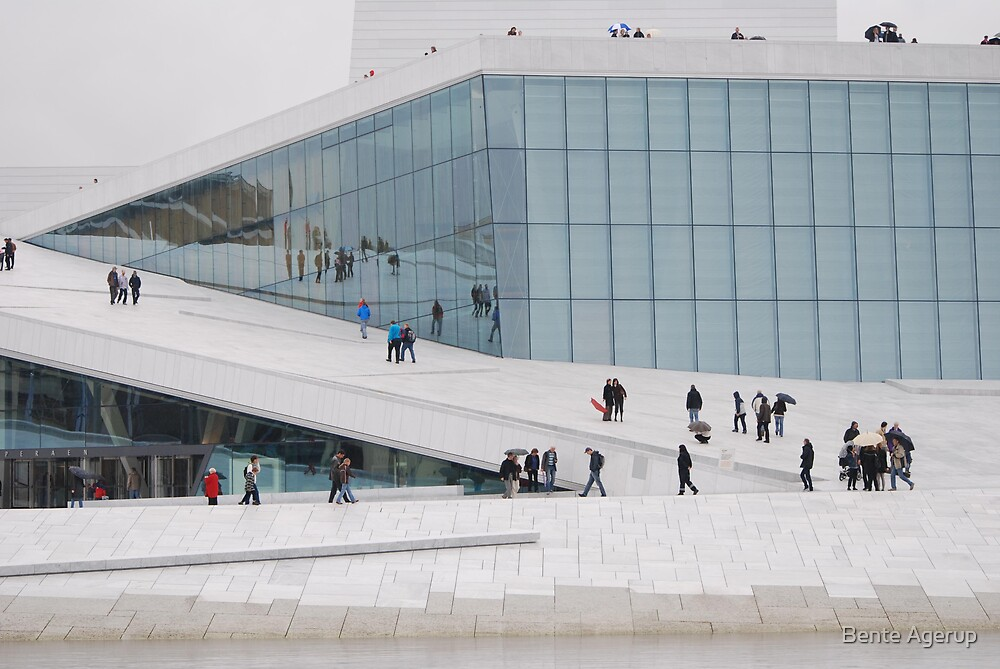 The new Opera house in Oslo by Bente Agerup