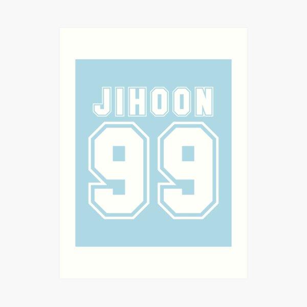 jihoon Art Print
