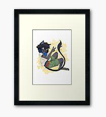 Neiro furry Framed Print