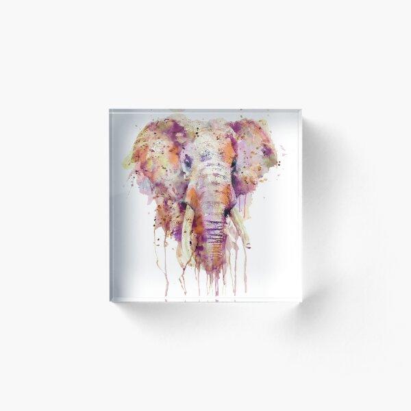 Elephant  Acrylic Block