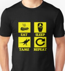 Ark Survival Evolved - EAT SLEEP TAME REPEAT  Unisex T-Shirt