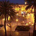 Plaza Nueva in Seville, Spain by CherylBee
