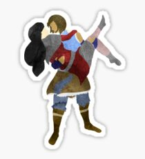 Korra and Asami Sticker
