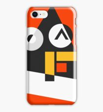 Abstract Tux Pyramid Avatar  iPhone Case/Skin