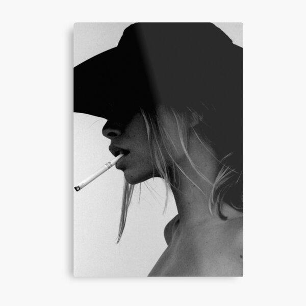 Smoking Hot... Metal Print