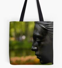 Lady at the Keukenof Tote Bag
