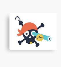 Arr Dead Pirate Canvas Print