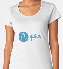 Yarn logo Women's Premium T-Shirt