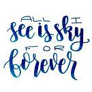 «Por siempre querido Evan Hansen» de bwaycalligraphy