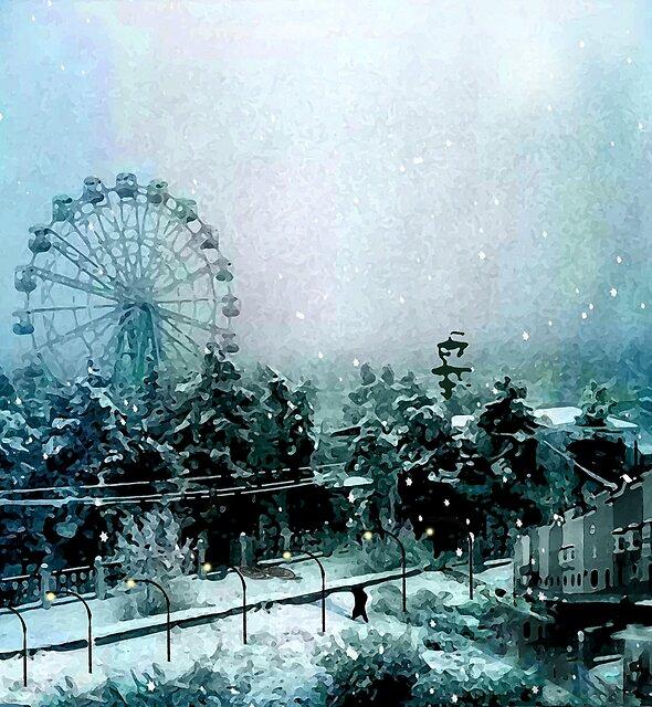 Cold Forest Playground by jeffreyjirwin