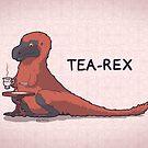 Fluffy Tea-Rex by Demmy
