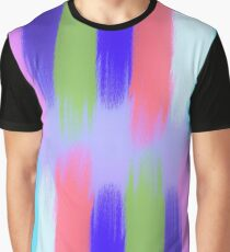 Painted Colorful Streaks 2 Graphic T-Shirt
