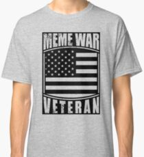 Meme War Veteran - Flag Classic T-Shirt