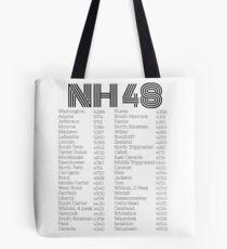 NH 48 4000 footers list Tote Bag