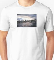 New York Skyline from Roof of Phun Factory, aka 5 Pointz, 2001 Unisex T-Shirt