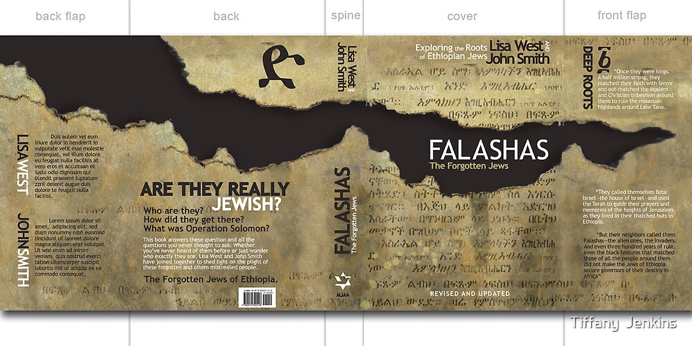 Falashas  Book Cover by Tiffany  Jenkins