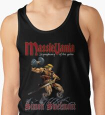 Masslevania - Symphony of the Gains Tank Top