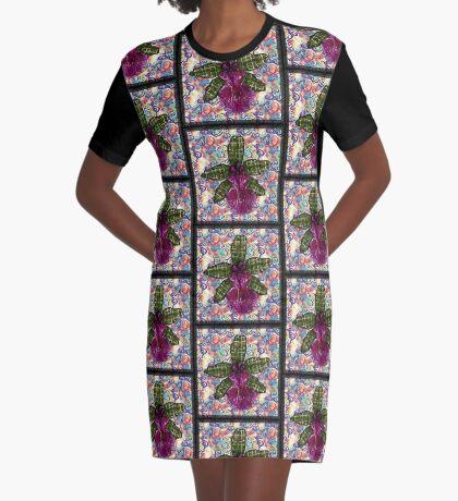Flow Graphic T-Shirt Dress