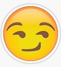 Smirkface Emoji Sticker