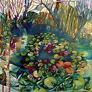 water lillies by elisabetta trevisan