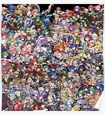 Aktualisiertes Fire Emblem Heroes Roster Poster