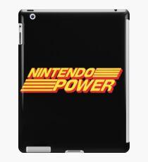Nintendo Power Retro Logo iPad Case/Skin