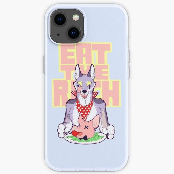 EAT THE RICH (Pastel) iPhone Soft Case
