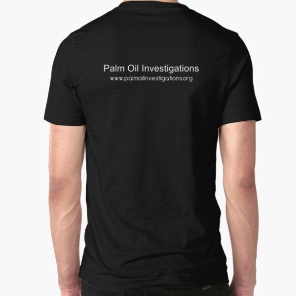 POI - Palm Oil Investigations Slim Fit T-Shirt