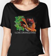 POI - I Love orangutans Women's Relaxed Fit T-Shirt