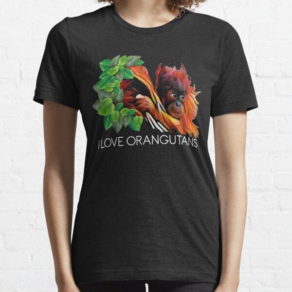 POI - I Love orangutans Essential T-Shirt