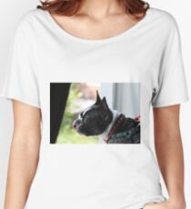 Boston Terrier Women's Relaxed Fit T-Shirt
