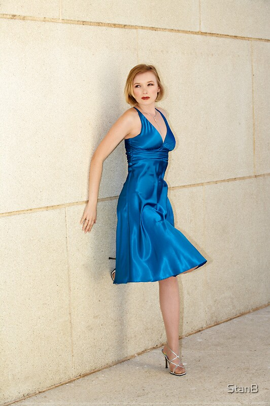 soph - blue dress by StanB