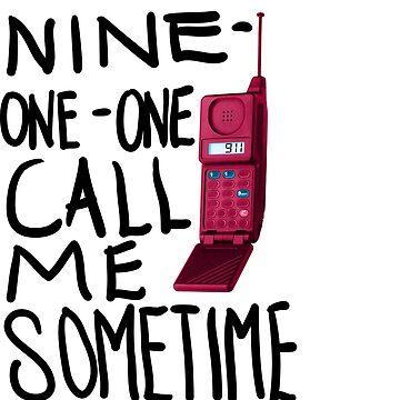 911 call me sometime  by yoitsthiskid