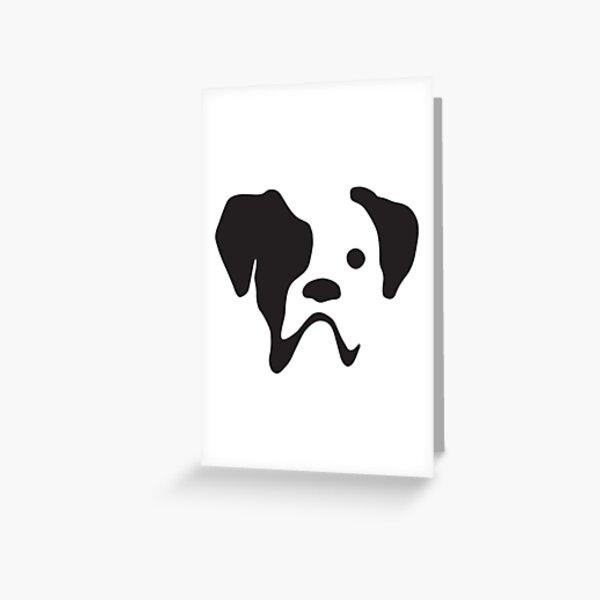 Boxer at the Wine Bar  dog art print 4x6 gift gifts