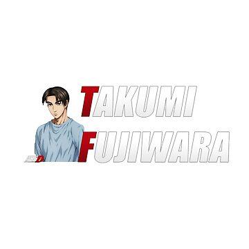 Initial D - Takumi Fujiwara by TheHackerOver