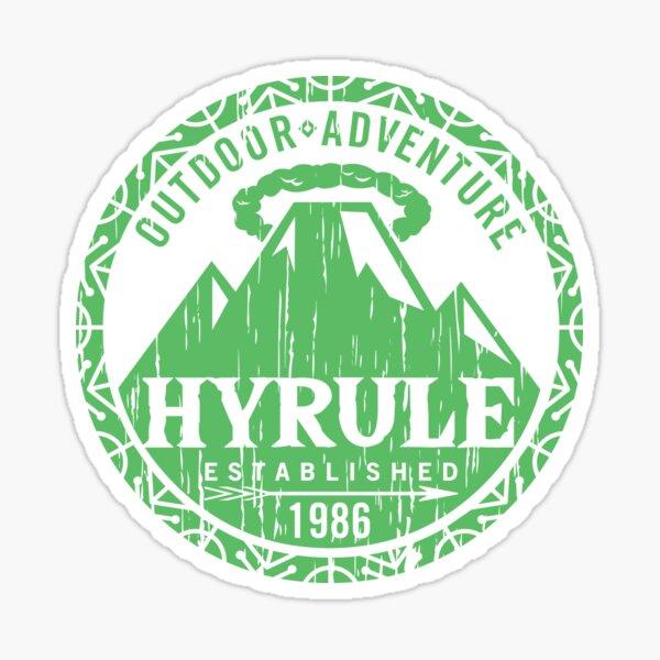 Hyrule Outdoor Adventure Sticker