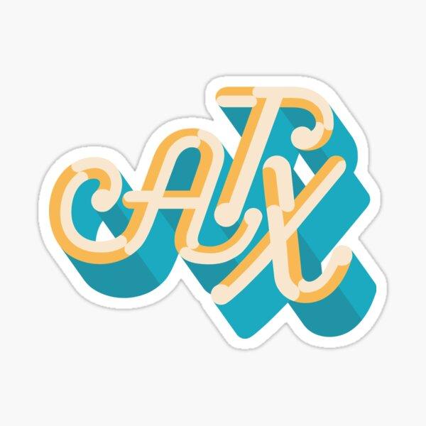 Austin Texas ATX Sticker