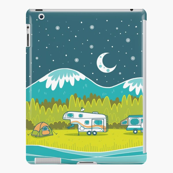 Camp Out iPad Snap Case