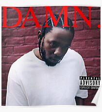 Kendrick - Damn Poster