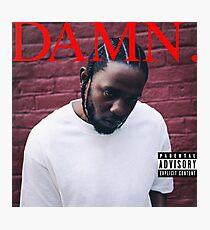 Kendrick - Damn Photographic Print