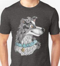 Slate/blue Merle Border Collie T-Shirt