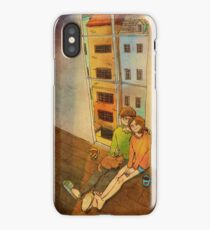 Sitting by the window iPhone Case/Skin