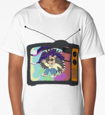 Lost in the Channels Long T-Shirt