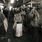 Tiny old lady at the market by JudyBJ